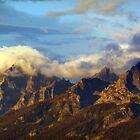 Grand Tetons under Blue Skies by Steve Upton