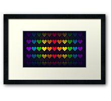 Rainbow lives Framed Print
