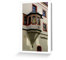 Vanotti Haus Greeting Card