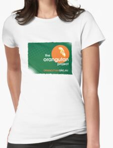 The Orangutan Project Womens Fitted T-Shirt