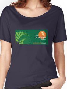 The Orangutan Project logo Women's Relaxed Fit T-Shirt