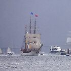 Sailing in the Rain by Graeme  Hyde