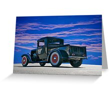 1932 Ford Pick Up V Greeting Card