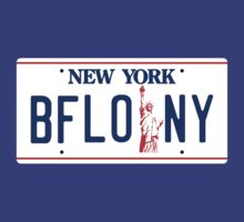 Buffalo New York Liberty license plate by TRStrickland