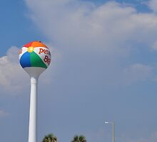 Pensacola Beach Ball by 1Yupikeskimo