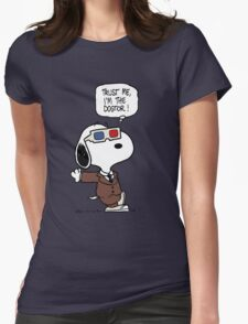 Trust Me, I'm The Dogtor Womens Fitted T-Shirt