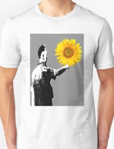 Soldier Sunflower T-Shirt