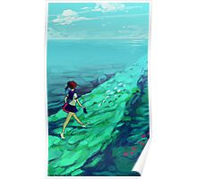 Ocean Path Poster