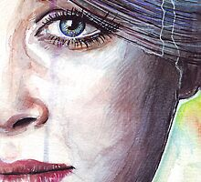 Prismatic Visions - Colorful Portrait by OlechkaDesign