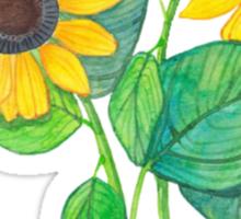 Cute Sunflower Tumblr Drawing Sticker