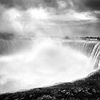 Niagara Falls and River by Stuart Kirby