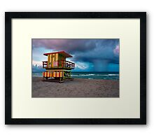 Miami South Beach Framed Print