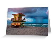 Miami South Beach Greeting Card