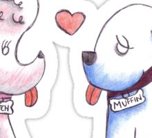 Butch and Muffin Sticker
