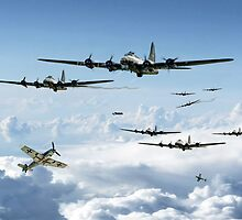 B17 Fortress Europe by James Biggadike