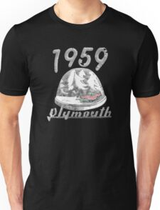 1959 Plymouth Snow Dome Unisex T-Shirt
