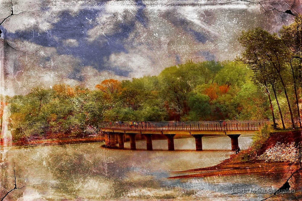 Old Bridge by Linda Miller Gesualdo