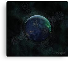 Spiritual Earth Canvas Print