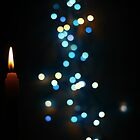 bokeh effect with a candle by pdjames111