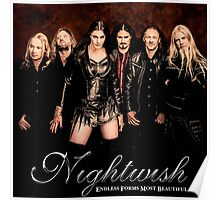 Nightwish Endless Forms Most Beautiful Poster