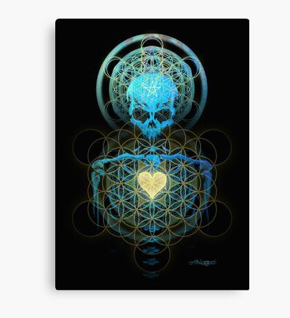 Visionary Skull  Canvas Print