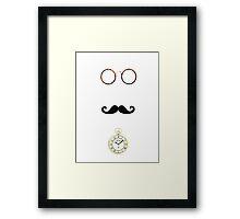 chap Framed Print