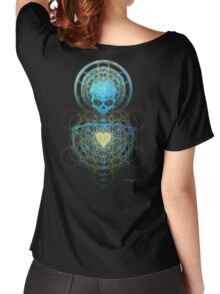 Visionary Skull  Women's Relaxed Fit T-Shirt