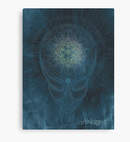 Master of Time Canvas Print