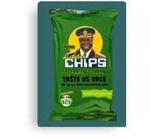 Dictator Chips Uganda Flavor Canvas Print