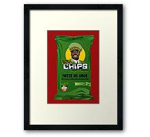 Dictator Chips Togo Flavor Framed Print