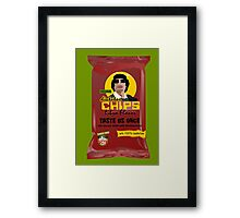 Dictator Chips Lybia Flavor Framed Print
