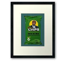 Dictator Chips Djibouti Flavor Framed Print