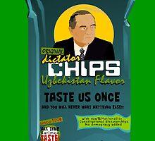 Dictator Chips Uzbekistan Flavor by Virginie Moerenhout