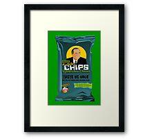 Dictator Chips Uzbekistan Flavor Framed Print
