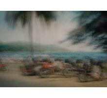 Patong bikes Photographic Print