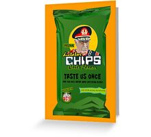 Dictator Chips Chile Flavor Greeting Card