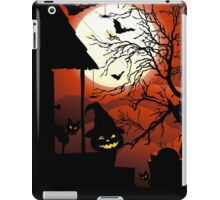 Halloween on Bloody Moonlight Nightmare iPad Case/Skin