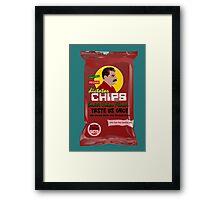 Dictator Chips Sovjet Union Flavor Framed Print