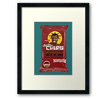 Dictator Chips Swaziland Flavor Framed Print