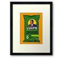 Dictator Chips Maladives Flavor Framed Print