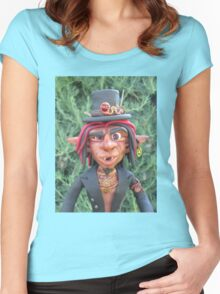 Things that scuttle at night Women's Fitted Scoop T-Shirt