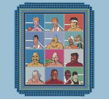 Nintendo Mike Tyson's Punch Out Fighters by jackandcharlie