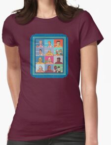 Nintendo Mike Tyson's Punch Out Fighters Womens Fitted T-Shirt