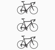 Racing Bikes (black) by hellomrdave