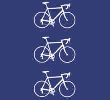 Racing Bikes (white) by hellomrdave