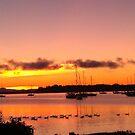 Lake Champlain - sunrise - 9.18.2013 by Nadia Korths