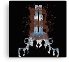 The Hateful Eight 2 guns logo  Canvas Print