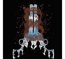 The Hateful Eight 2 guns logo  Photographic Print
