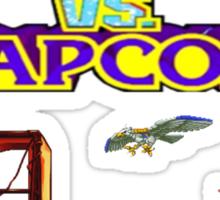 Marvel VS Capcom! Sticker