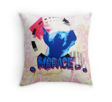 Mbrace Throw Pillow